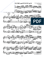 Prelude and Fugue in d Full