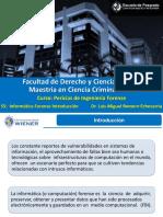 S5 Informática Forense Introducción Dr Luis Romero Mae Ciencias Criminalisticas