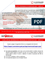 CURSO INFOBRAS INSCRIPCION
