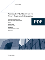 Adapting the SQUARE Process for Privacy Requirements Engineering