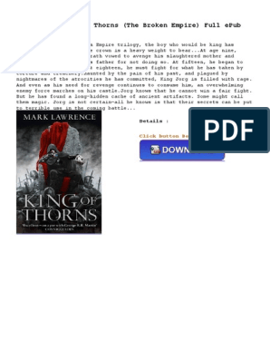 King of Thorns the Broken | E Books | Amazon Kindle