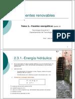 Tema2_parte-II Fuentes Energeticas Renovables