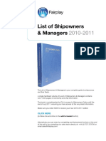 China Shipowner Details