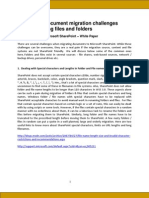 Share Point Document Migration White Paper