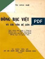 (1968) Đồng Bạc Việt Nam Và Các Vấn Đề Liên Hệ - Nguyễn Bích Huệ