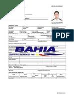 Application Form Argie