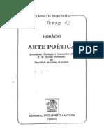Horacio Arte Poetica