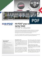 HI-FOG Pop-out Spray Head for Rolling Stock v2