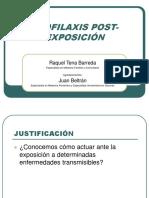 Profilaxis Post Exposicion