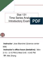 Time Series Analysis Intro