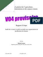 2010 01 22 Rapport Audit OP Banane_V04 Proviso Ire 1