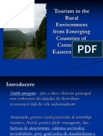 Tourism in Rural Areas in Eastern Europe