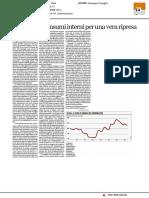 Rilanciare i consumi interni per una vera ripresa - La Repubblica Affari e Finanza del 26 giugno 2017