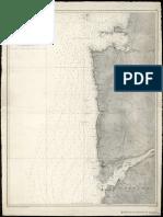 Carta Que Comprende Desde El Río Miño Hasta Bayona H 1912