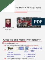Close-up and Macro Photographyx