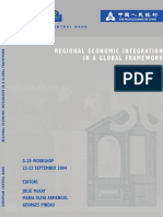 Regional Econ Integration Global Framework 2005 En