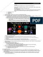 Earth Science - Earth and Space Handout