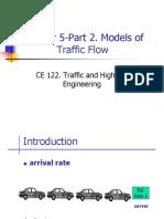 Ch05 Part 2-Traffic Flow Models
