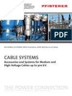 Pfisterer HV Cable Systems