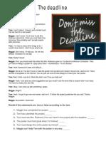 verbe modale-the deadline
