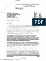 The North Shore Waterfront Conservancy of Staten Island's Letter RE