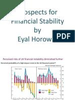 ההשפעה של מדיניות מקרו-יציבותיים לחיזוק המדיניות המוניטרית-איל הורוביץ