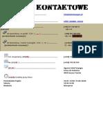 Dane Kontaktowe i Lokalizacja Biura Sahel Voyages