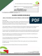 Examen Español 3 Historieta