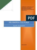 Filosofia Culturii Unitatea I