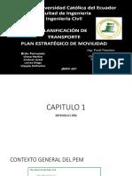Plan Estratégico de Movilidad Grupo 3