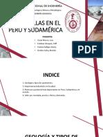 Las Arcillas en El Perú y Sudamérica