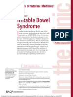 AIM - Irritable Bowel Syndrome