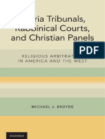 Broyde, Michael J-Sharia tribunals, rabbinical courts, and Christian panels _ religious arbitration in America and the West-Oxford University Press (2017).pdf