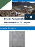 Difusion de Politica Ssomac .2017