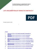 Reglementari Tehnice 01012016 Actualizat