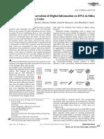 Digital Information Storage DNA