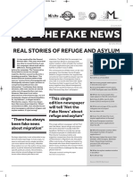 Not the Fake News - Real Stories of Refguge and Asylum