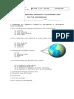 Evaluaciòn de Historia Zonas de Climaticas
