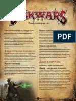 Warhammer Diskwars Zasady Turniejowe