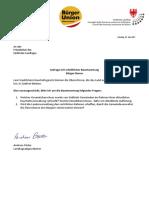 Verwaltungsüberschüsse der Südtiroler Gemeinden - Anfrage & Antwort L. Abg. Andreas Pöder