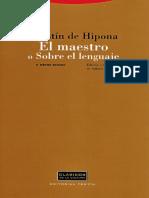 Agustin de Hipona - Sobre el lenguaje.pdf