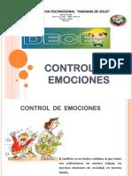 Control de Emociones