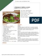 Porc Chinezesc Si Salata Cu Susan
