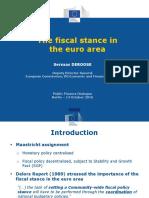 20161014 Deroose Berlin Fiscal Stance Ea