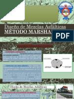 Diseño de Mezclas Asfálticas MÉTODO MARSHALL
