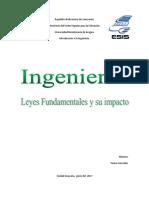 Leyes Fundamentales Aplicadas en La Ingenieria