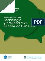 Tecnologia Oralidad Civil