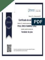 Certificado Poul
