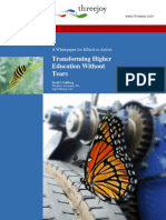 Transformative Change of Higher Education Final 2015
