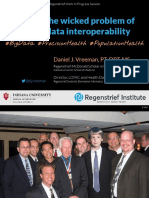 2017 05 - Taming the Wicked Problem of Health Data Interoperability